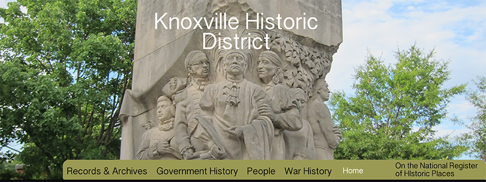 knoxville historic routes and trails